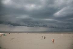 """Berck-Plage, Pas de Calais (62). France : """" horizon de pluie """""""