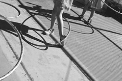 (netra nei) Tags: shadow bw playground kids hulahoop