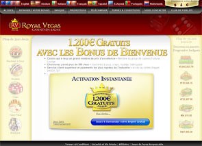 Royal Vegas Casino Home
