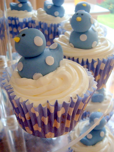 spotty duck cupcakes2