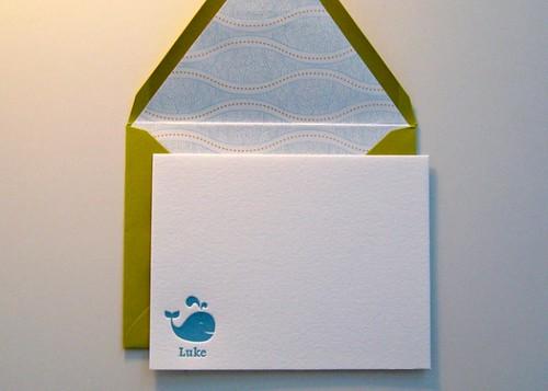 Luke - Baby Notecards
