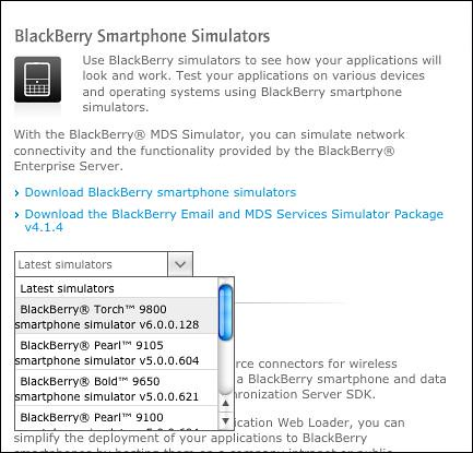 SimBlackberry