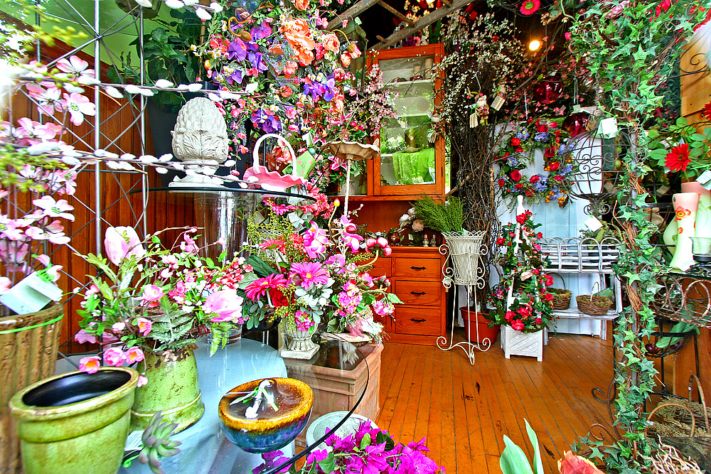 Florist Shop Window