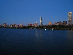 IMG_5189 (kz1000ps) Tags: city cambridge sunset urban tower boston skyline architecture skyscraper golden massachusetts charlesriver potd hour johnhancock prudential backbay memorialdrive