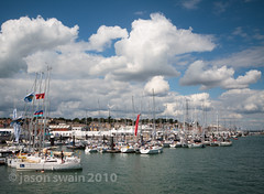 The 'Isle of Wight locations' multiple posting catch-up event  2010 (Cowes) (s0ulsurfing) Tags: ocean uk sea water marina canon boats island photography coast boat sailing yacht britain shoreline sails august coastal shore vectis isleofwight boating sail coastline british yachts isle cowes wight 2010 yachting s0ulsurfing seglen coastuk welcomeuk