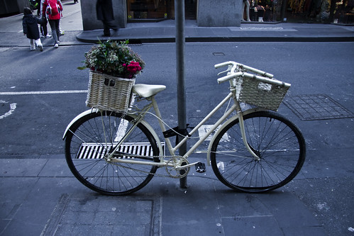 Melbourne White Bike