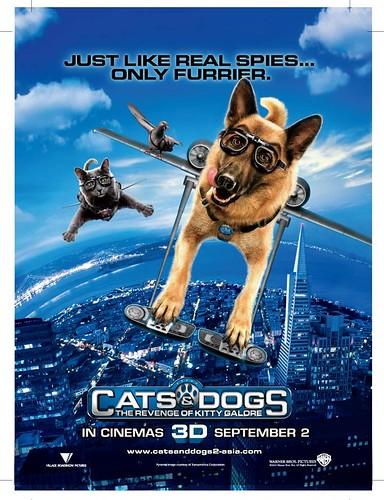 cats and dogs 2 poster