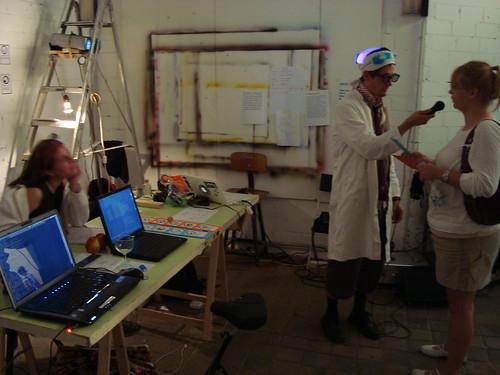 ART01 Berlin izgledom je podsjećao na art-labaratorij