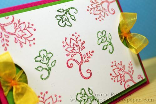 Glitter Floral Vines (3)