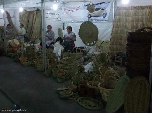 Exposição de cestaria