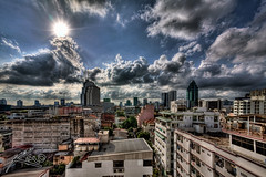 First HDR Cityscape of Bangkok