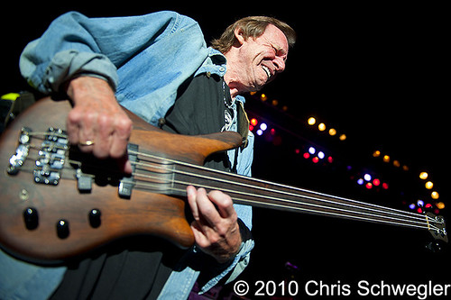 Jack Bruce - 08-04-10 - Hippiefest, DTE Energy Music Theatre, Clarkston, MI
