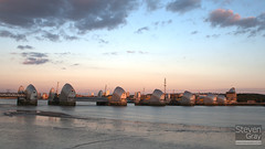 Places - Thames Barrier from Thames Barrier Park - 100731 - London - Steven Gray - HDR 1w