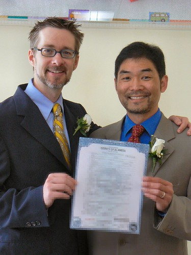 Marriage Certificate Photo