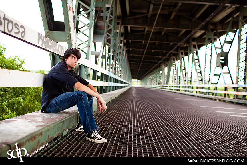 Kansas City west bottoms senior photography