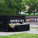 Monument marking hypocentre of Nagasaki explosion