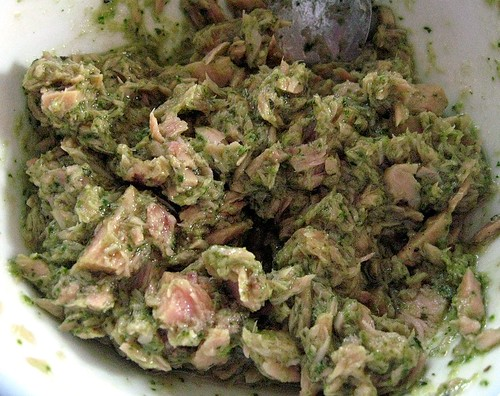 Pesto Tuna Salad