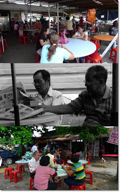 Menglembu Market Food Stalls