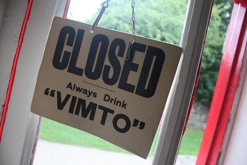 Vimto closed
