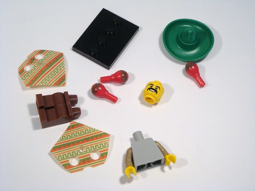 LEGO Collectable Minifigs Series 2 - Mexican