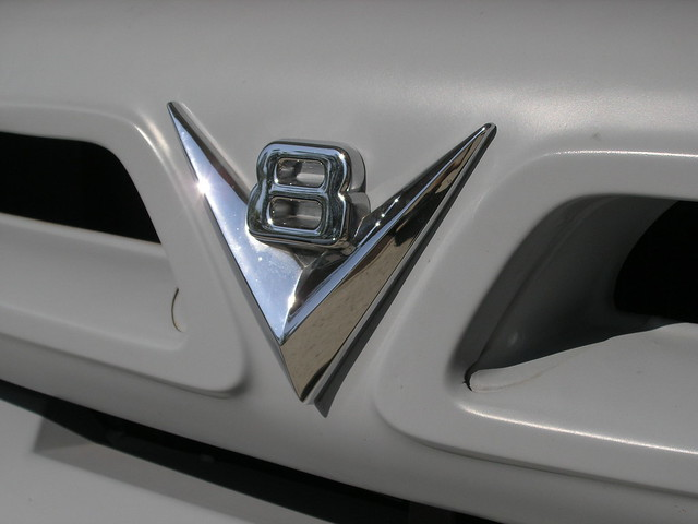 grill badge v8 ford1953f100f100truckhotrodprimershopvonpetroltraditionalvintage