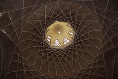 Dome Interior (A.Davey) Tags: iran yazd islamicdome dowlatabadgardens