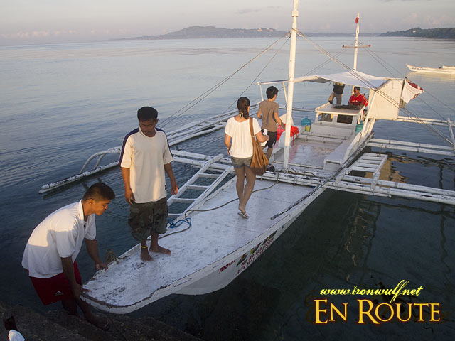 Outrigger Boat for Pamilacan