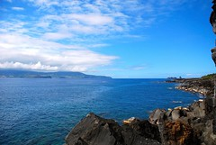 Canal Pico - Faial (JMelo) Tags: ocean blue island paradise pico azores faial