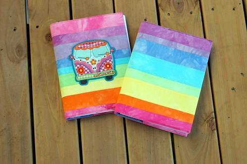rainbow journals