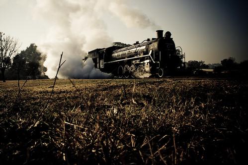 [フリー画像] 乗り物, 電車・列車, 蒸気機関車・SL, 201008112300