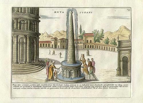 meta sudans - pietro santi bartoli 1699