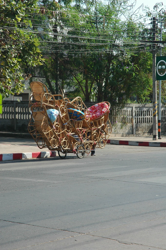Wicker load, Udon Thani