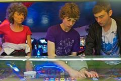 Bournemouth - Friday Night - Amusement Arcade (Peter J Dean) Tags: summer holiday alex nick dorset betting juliette amusementarcade canonef1635mmf28liiusm ef1635mmf28liiusm canon7d
