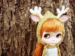 deer pixie hat