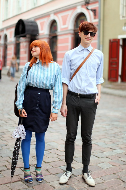 Tallinn Old Town - amigos coloridos