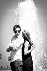 DSC_1289 (Franecki Photography) Tags: andy marina engagement nikon melissa milwaukee artmuseum lakepark d90