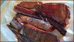 smoked salmon (seewhy) Tags: alaska fishingtrip copperriver chitina redsalmon