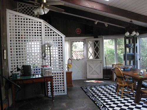 Sunroom & writing desk