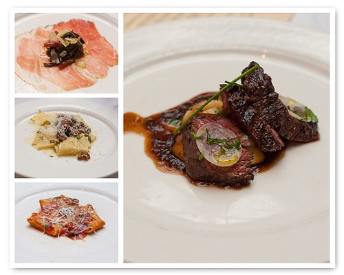 Babbo Traditional Tasting Menu