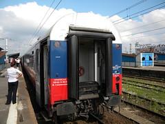 Train Moscow-Amsterdam (Timon91) Tags: station train poland railway warsaw warszawa warszawawschodnia trainamsterdammoscow