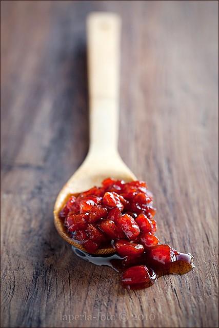 Tomato Jam with vanilla