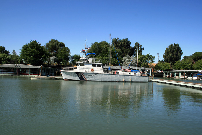 Compass Rose Moored in Rio Vista
