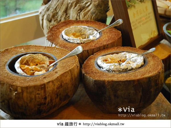 【新竹旅館】關西六福莊生態渡假旅館~餐食篇7