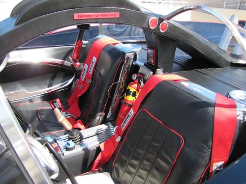 Seats: The '66 Batmobile