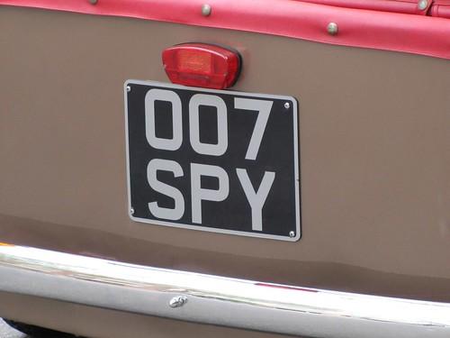 007 Spy: 1954 Bond MiniCar Mark C