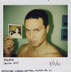 (220) Mark (neverendingpolaroid) Tags: polaroids blink182 markhoppus neverendingpolaroid