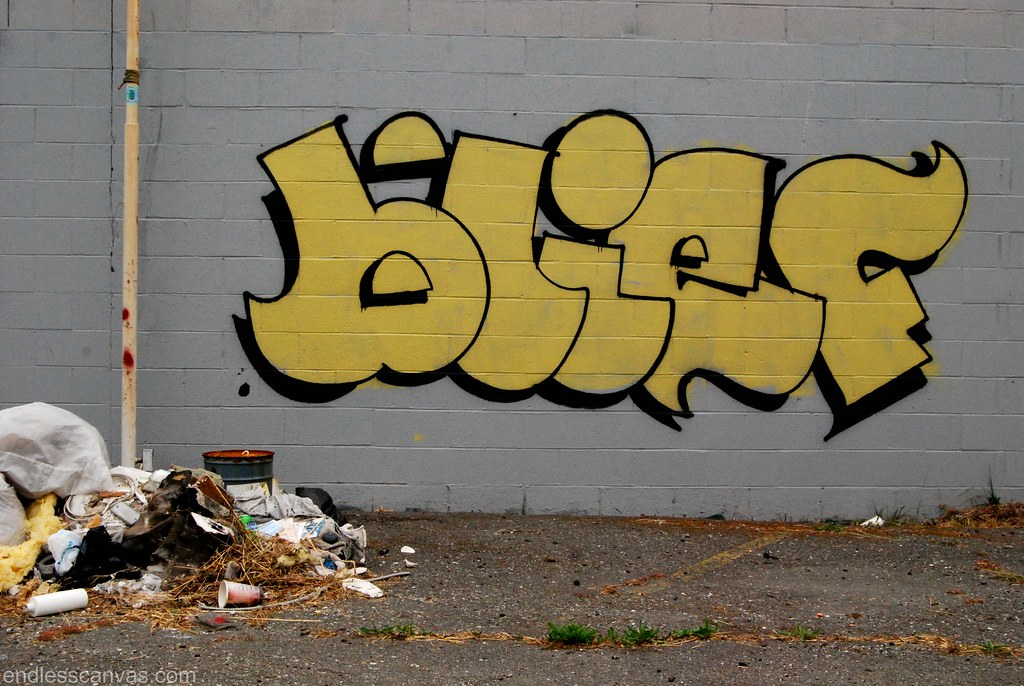 BLIEF Graffiti Throw in Oakland California.