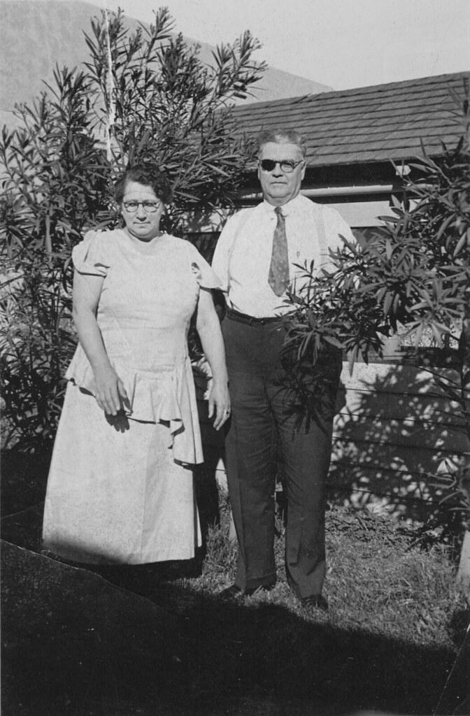 Grandma Lila and Grandpa George Wood