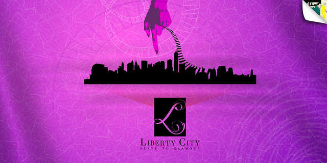Liberty City poster by Fariida Yalin