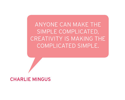 THE ARTIST SPEAKS: CHARLIE MINGUS